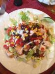 American California Pizza Kitchens Bbq Chicken Salad Appetizer