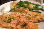 American Rainbow Trout Fillets with Lemon and Mascarpone Dressing Dinner