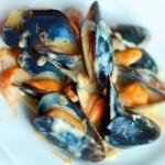 French Mussels with Saffron Dinner