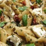 Canadian Penne with Sundried Tomatoes and Feta Dinner