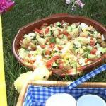 Spanish Colorful Spanish Salad ensa Lada Campestre Appetizer