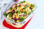 American Chargrilled Vegetable And Chilli Pasta Salad Recipe Appetizer