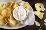 American Real Sour Cream Onion Dip Recipe Appetizer