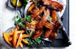 Canadian Countrystyle Pork Spare Ribs With Mustard Barbecue Sauce Recipe Dessert