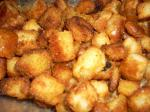 British Succulent Homemade Croutons Appetizer