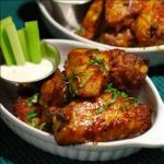 American Fire Roasted Sriracha Chicken Wings BBQ Grill