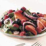 American Tripleberry Spinach Salad Appetizer
