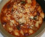American Beefy Bean and Vegetable Soup Dinner