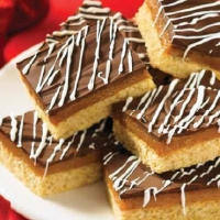 Canadian Fudge Bars Dessert
