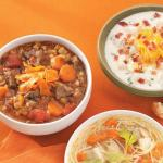 American Slowcooked Beef Barley Soup Appetizer