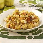 American Slowcooked Chicken and Stuffing Dinner