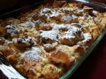 French Maple Cream Cheese French Toast Casserole Dessert