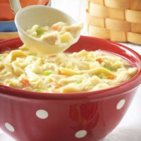 Canadian Thick Chicken Noodle Soup Soup