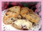 British The Bistros Cherry Scones Dessert