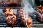 American Yakitori Chicken With Ginger Garlic and Soy Sauce Recipe Appetizer