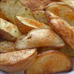 American Roasted Potato Wedges BBQ Grill