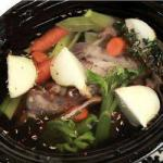 American Chicken Broth in the Slow Cooker Appetizer