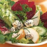 Danish Mixed Salad with Pears and Blue Cheese Appetizer