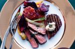 British Grilled Angus Beef With Beetroot And Blood Orange Salad Recipe Dinner