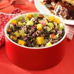 American Almond and Apple Wild Rice Salad Dessert