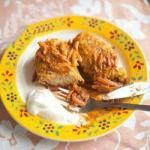 British Cabbage Rolls Stuffed with Meat Appetizer