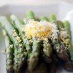 American Asparagus With Grated Egg and Vinaigrette Dinner