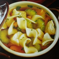 Bulgarian Herbed Chicken noodle soup Soup