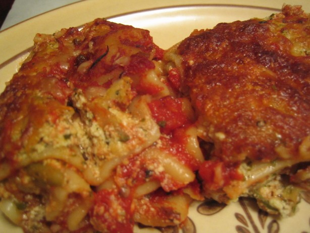 American Cheese  Pesto Lasagna Dinner