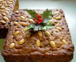 American Rich Christmas Fruitcake 1 Appetizer