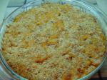 American Baked Macaroni Tomatoes  Cheese Dinner