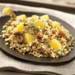 American Bulgur Wheat with Pineapple Pecans and Basil Recipe Appetizer
