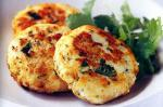 Thai Thaistyle Fish Cakes With Lime Mayonnaise Recipe Appetizer