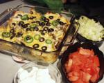 American Double Cheese Nachos Appetizer
