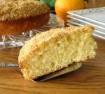 American Orange Streusel Coffee Cake 1 Dessert