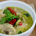 Thai Green Curry with Chicken Thai Style Dinner
