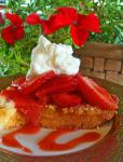 American Cream Cheese Pound Cake With Strawberries and Cream Dessert
