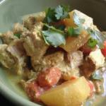 Indian Chicken Curry in Slow Cooker Dinner
