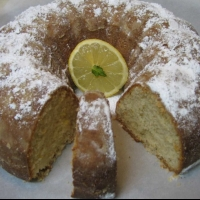 Canadian Lemon Bundt Cake Dessert