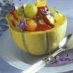 British Pimms Melon Bowls Appetizer