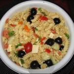 Italian Shells Pasta Salad Dinner