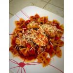 American Chicken  Pasta With Marinara Sauce Dinner