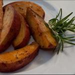 British Garlic Potato Wedges Alcohol