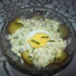 American Shoe with Eggs Appetizer