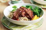 American Duck Breast With Soba Noodles And Mango Recipe Dinner