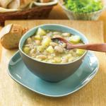 American Herbed White Bean Soup Appetizer