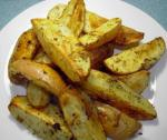 American Roasted Potato Wedges 6 Appetizer