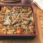 American Sunday Brunch Strata Appetizer