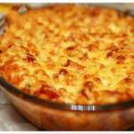 Canadian Macaroni Gratin with Melted Cheddar Appetizer