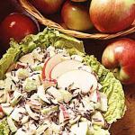 American Wild Rice Apple Salad Dinner