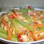 Chinese Chinese Hot Stirfried Chicken Breast Appetizer